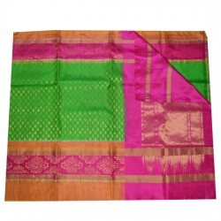Soft Silk Saree with Broad borders