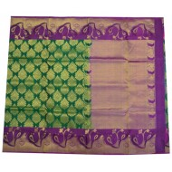 Soft Silk Saree with Parrot Designed Border