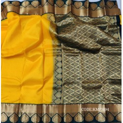 Gorgeous light weight kanchipuram handwoven saree.