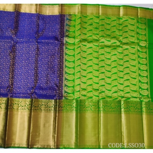 Light weight Soft silk Resham Party Style