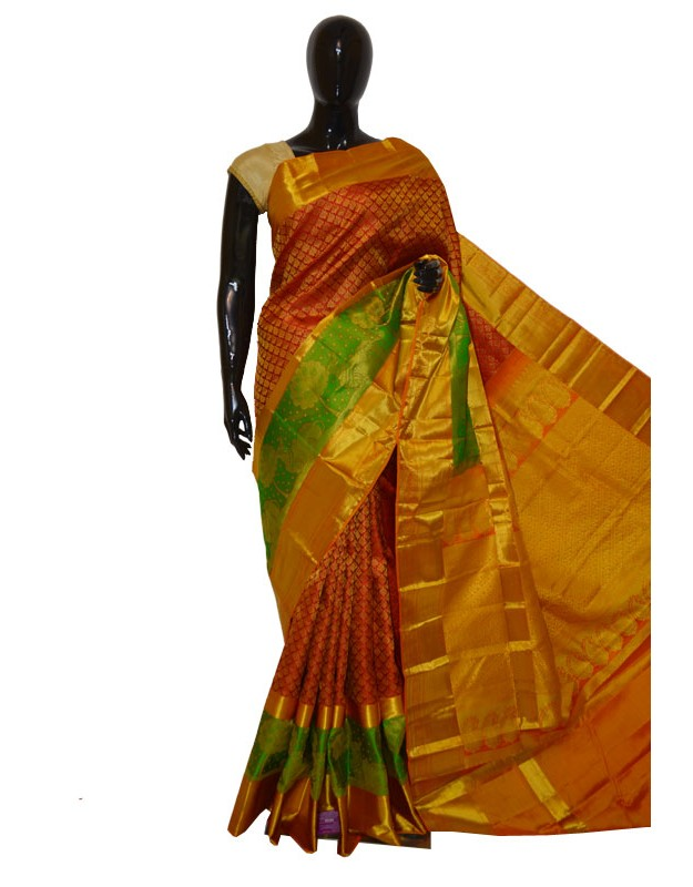 Kanchi Pattu Brocade Latest Design