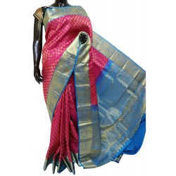 Kanchi Pattu Allover Butta Brocade