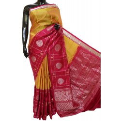 Kanchi Pattu Light Weight Outstanding Combination