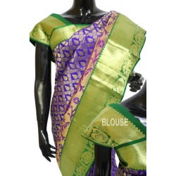 Kanchi Pattu Full Brocade With Exclusive Kairys On the Border