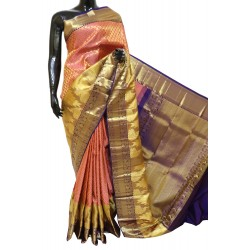Kanchi Pattu Bridal Look Full Brocade 50% Off
