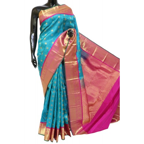 Latest Kanchi Pattu Saree