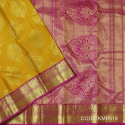 Kanchi Pattu Pure Handwoven Brocade 50% OFF-KMP819