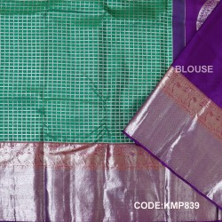 Kanchi Pattu Pure Handwoven Brocade 50% OFF-KMP839