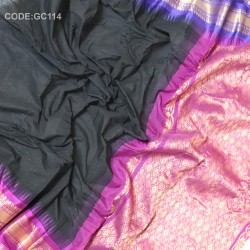 Gadwal pure cotton saree Gangajemuna-GC114