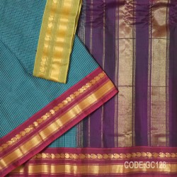 Gadwal pure cotton saree Gangajemuna Border-GC128