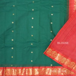 Gadwal pure cotton saree Pure Handwoven-GC130