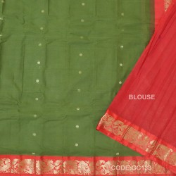 Gadwal pure cotton saree Pure Handwoven-GC133