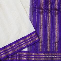 Gadwal pure cotton saree Pure Handwoven-GC141
