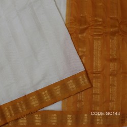 Gadwal pure cotton saree Pure Handwoven-GC143