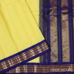 Gadwal pure cotton saree Pure Handwoven-GC149