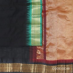 Gadwal cotton saree with Blouse-GC49