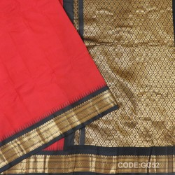 Gadwal cotton saree with Blouse-GC52
