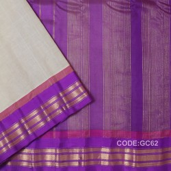 Gadwal cotton saree with Blouse-GC62