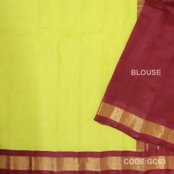 Gadwal cotton saree with Blouse-GC63
