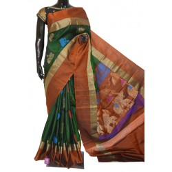 Beautiful Light Weight Soft Silk Sarees with Exclusive Resham Motifs