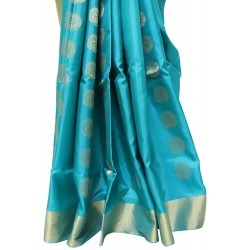 Soft Silk Pure zari Allover Hamsa Butta