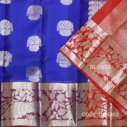 Latest Oraganza Saree With Broad Borders-ORK002