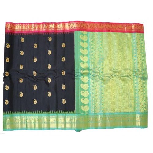 Gadwal Pure Silk with Latest Gangajemuna Border