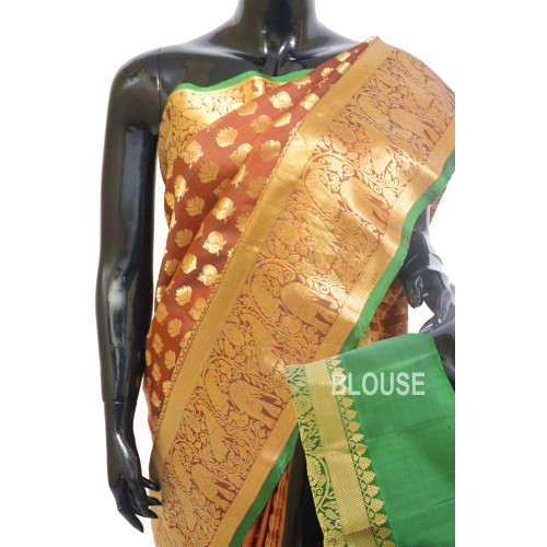 Gadwal Pure Silk Allover Full Motifs