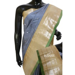 Gadwal Pure silk Traditional unique Combination
