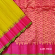 Gorgeous Gadwal Silk Saree Along beautiful Combination