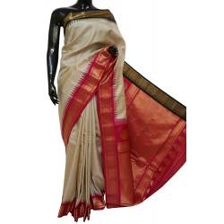 Gadwal Pure silk Traditional Combination