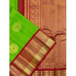 Gadwal Pure Silk High-Quality Handwoven Long Border