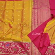 New Kanchi Pattu Lightweight Saree-KMP864