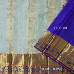 Half Fine Silk Sarees With Bridal style-HF256