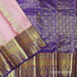 Half Fine Silk Sarees With Bridal style-HF257