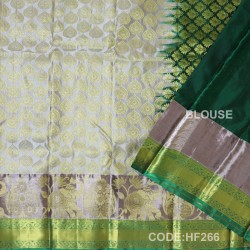 Half Fine Silk Sarees With Bridal style-HF266