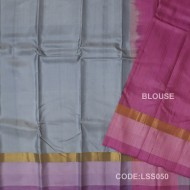 Light weight Soft Silk Saree With Plain Style-LSS050