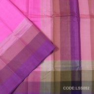 Light weight Soft Silk Saree With Plain Style-LSS052