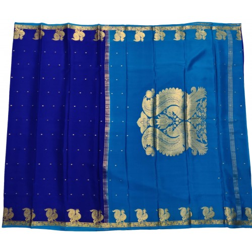 Crepe Silk Small Border With Beautiful Motifs