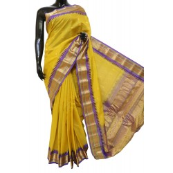 Gadwal Sico with Attached Silk Blouse
