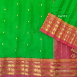 Gadwal Pure Sico check with Kuttu Temple Border-GS167