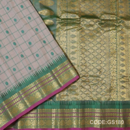 Gadwal Sico with Small Cheks-GS180