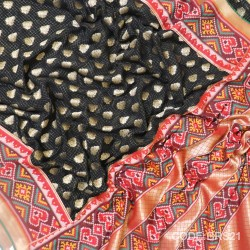 Banarasi Pure Georgette with Paithani Border-BRS21