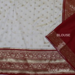 Banarasi Kathan Silk Saree with Paithani Border-BRS37