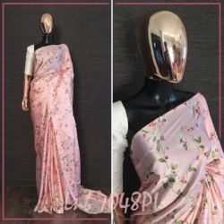 Floral Digital printed Beautiful printed saree