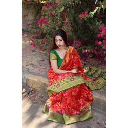 Kanchi Bridal Silk Saree