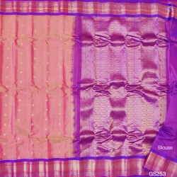 Gadwal Pure Sico with Silk blouse GS-253
