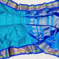 Gadwal Pure Sico with Silk blouse GS-256