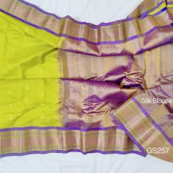 Gadwal Pure Sico with Silk blouse GS-257