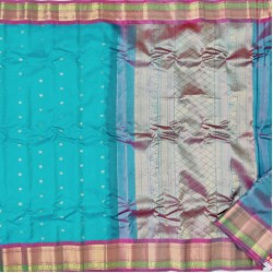 Gadwal Pure Sico with Silk blouse GS-258